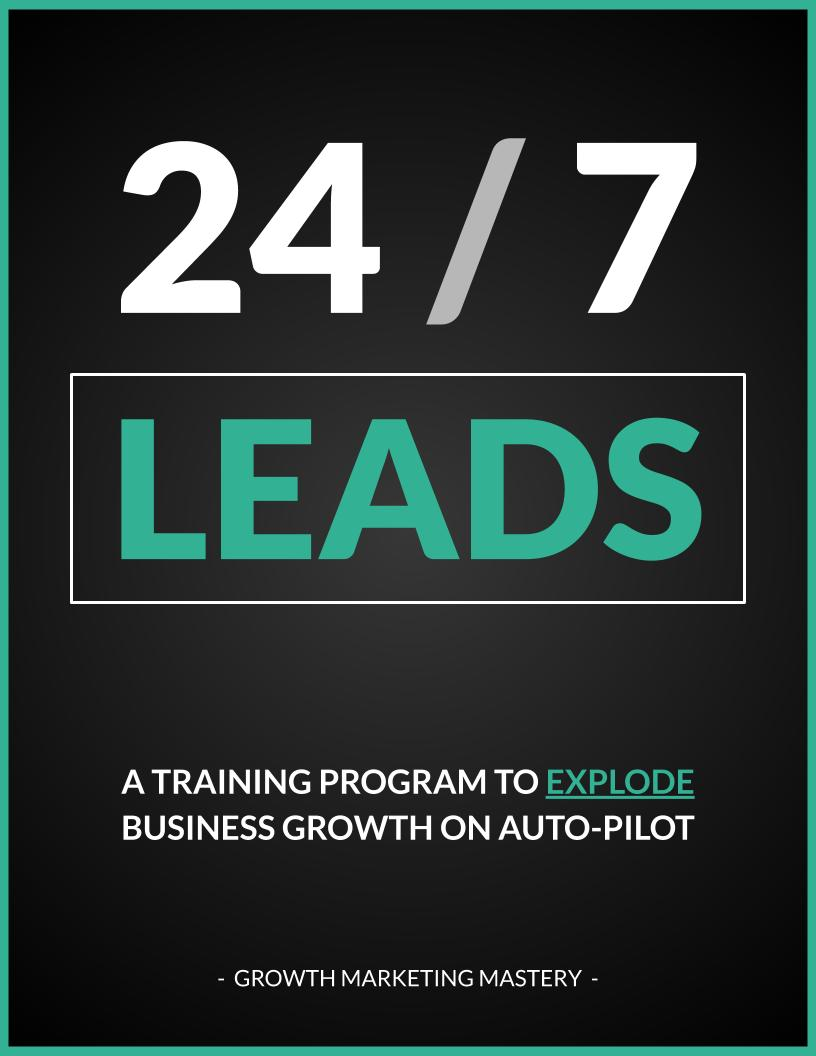 get leads 24 7